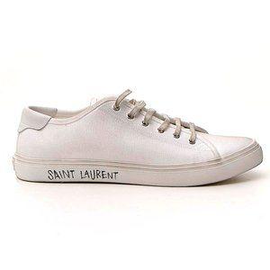 Saint Laurent Malibu Low-Top Sneakers Size 8 NEW